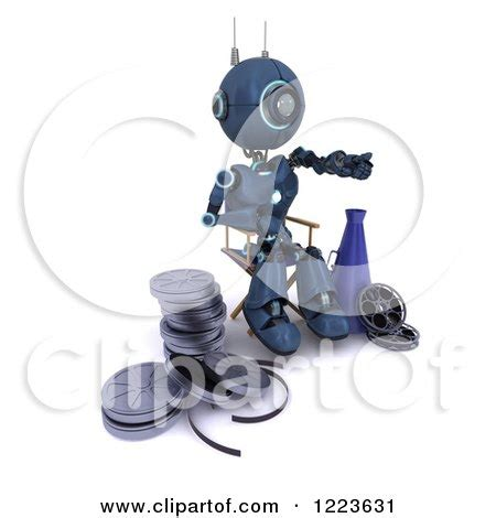 robot film director name royalty free movie illustrations by kj pargeter page 1
