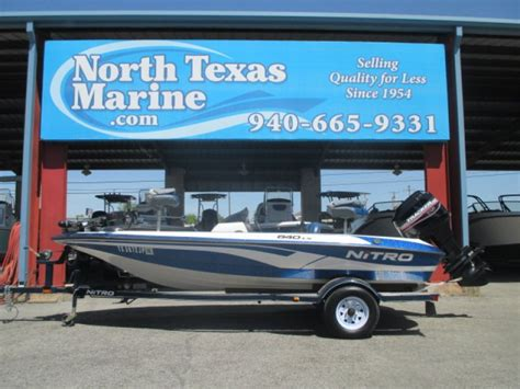 used nitro bass boats in texas nitro 640lx boats for sale in gainesville texas