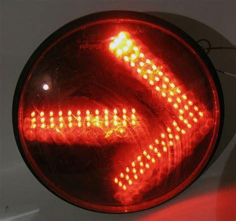 Stop Light L by Traffic Signal Light Arrow Led Stop Light 120v 12 Quot Dia