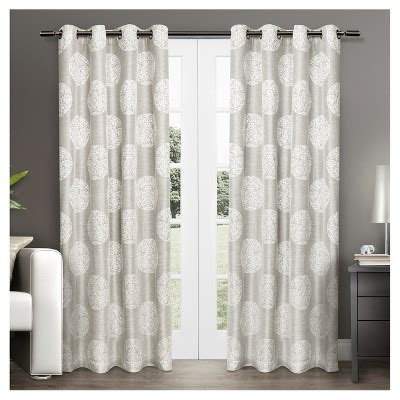target drapery panels set of 2 akola curtain panels exclusive home 174 target