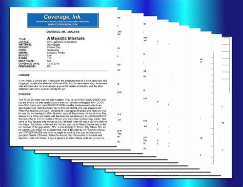 script coverage template image collections templates