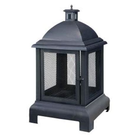hton bay outdoor fireplace hton bay franklin outdoor fireplace 30375hddi the