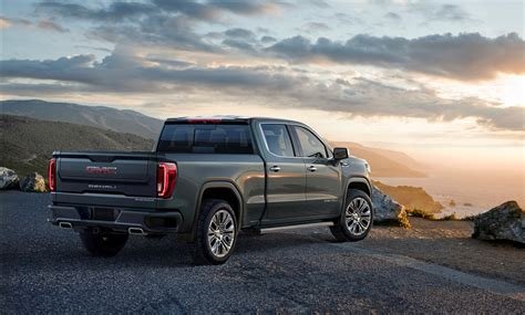 2019 Gmc 1500 Duramax by 2019 Gmc 1500 Goes Official With Carbon Fiber Bed