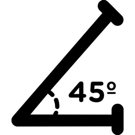 45 grad winkel 225 ngulo agudo de 45 grados descargar iconos gratis