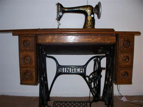 antique singer sewing machine cabinet value beautiful