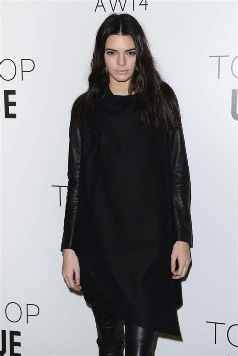 Lees At Topshop And At Fashion Week by Kendall Jenner At Topshop Unique Show At Fashion