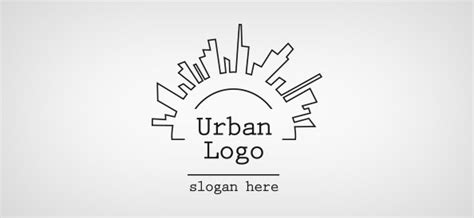 urban logo template  logo design templates