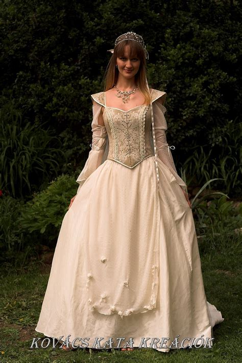 Renaissance Style Wedding Dresses by Renaissance Style Alternative Corset Wedding Gown