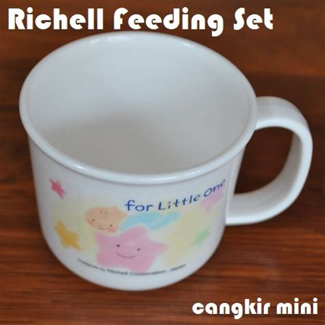 Richell Tempat Makan Bayi Animal Baby Food Container 100ml Isi 8pcs richell feeding set peralatan makan bayi lengkap
