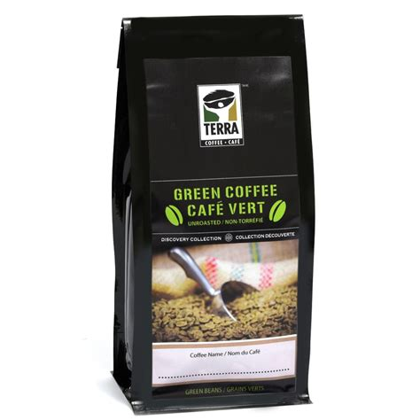 Green Tea Blend Coffee Bean decaf green coffee beans co2 decaf green coffee terra