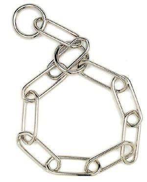 cadena para perro alemana collar aleman abierto 3 4mm fur saver sprenger hs germany
