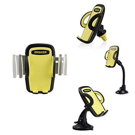 Keren Habiis 3 In 1 Car Mobil Holder Kit Pegangan Diskon omaker 3 in 1 mobile phone car mount holder cradle universal smartphone car air vent holder