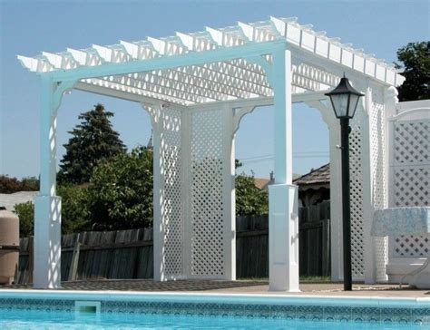 vinyl roof pattern 1000 images about pool pergola gazebo ideas designs