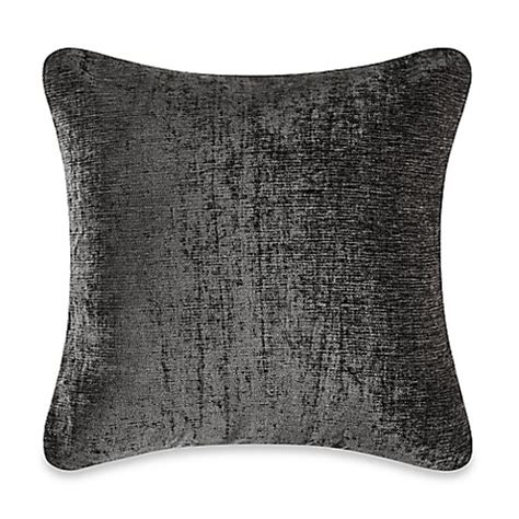 bed bath and beyond pillow covers myop parady square throw pillow cover in grey bed bath