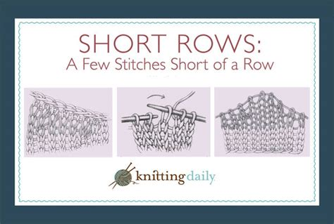 knitting terms wrap and turn row knitting ultimate guide knitting daily