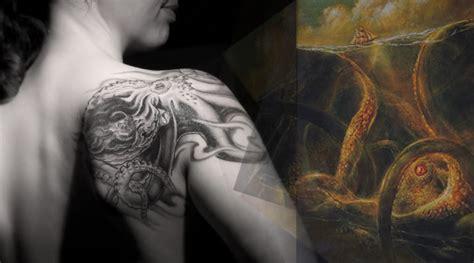 imagenes de tatuajes de kraken tatuajes de pulpo tatuajes de animales