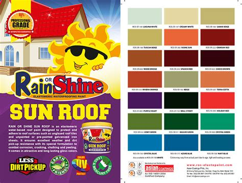 or shine color chart price list update