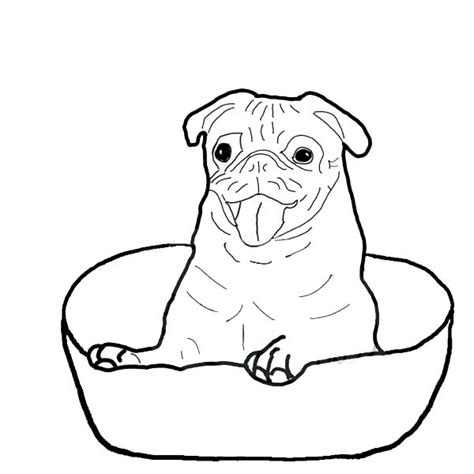 pug coloring pages printable pug coloring pages coloring pages