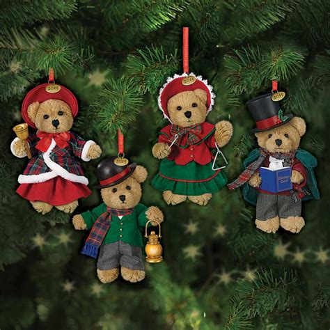 christmas quartet the 2015 teddy bear ornaments the