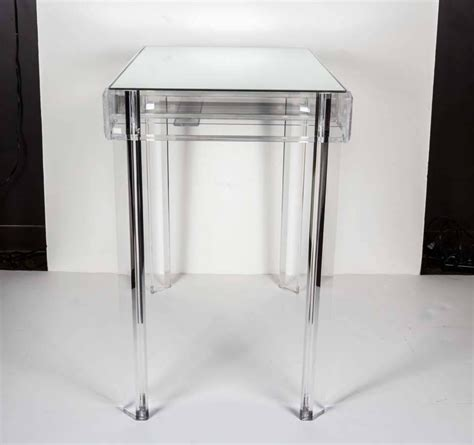 Acrylic Vanity Table Lucite Vanity Table At 1stdibs