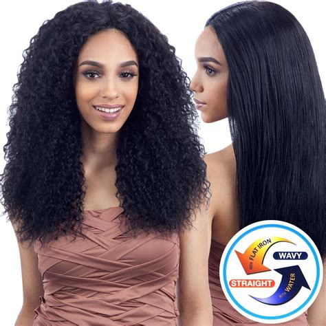 cinemaxx wave n go naked nature unprocessed wet wavy hair beach curl 7pcs