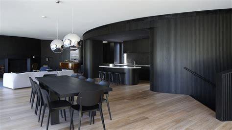 Portsea House | Wood Marsh Architecture Wood Wallpaper Bedroom