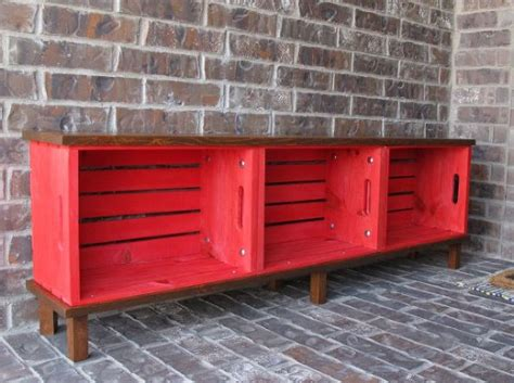 crate bench hometalk diy crate bench