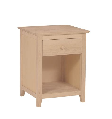 1 Drawer Nightstand 20 Inch Lancaster 1 Drawer Nightstand Simply Woods