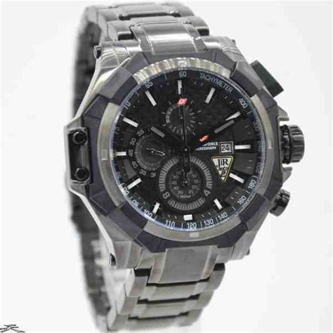 Chronoforce Black White Original jual jam tangan chronoforce 5209mb black grey baru jam
