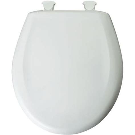 toilet seat covers home depot bemis closed front toilet seat in crane white