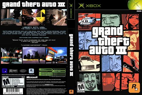 Grandtheft Auto 3 by Gta 3 Cover Xbox Www Pixshark Images Galleries