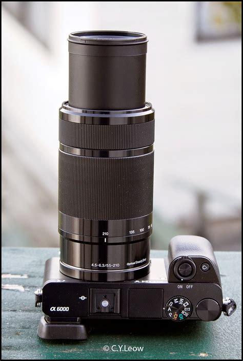 Sony E 55 210mm F4 5 6 3 Oss Black lens sony e 55 210mm f4 5 6 3 oss lens