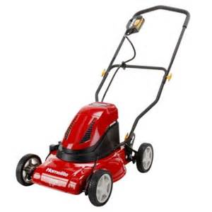 electric lawn mowers at home depot homelite 17 in rechargeable cordless electric lawn mower