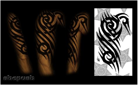 colored tribal sleeve tattoos colored tribal sleeves www imgkid the image