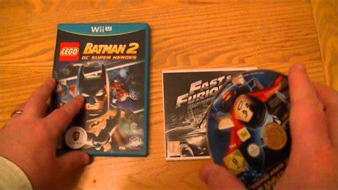 Nintendo 3ds Fast Furious Showdown Second lego batman 2 dc heroes nintendo wii u fast