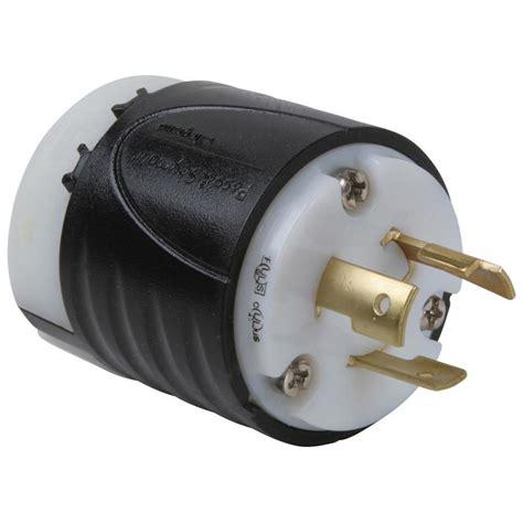 3 wire plugs shop legrand 20 250 volt black 3 wire grounding