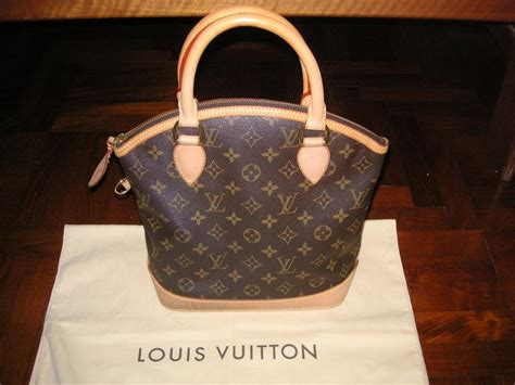 bag sold authentic louis vuitton lockit bag