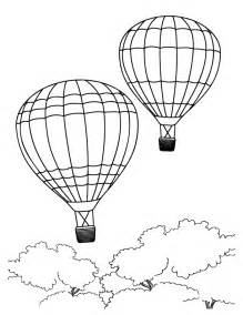 air balloon coloring page free air balloon coloring pages