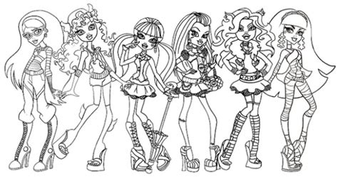 Hw Pajamas Frank all about high dolls high free printable