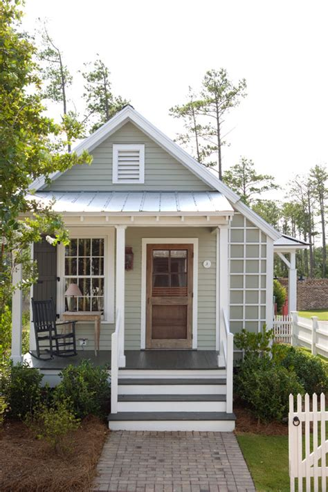 small house exterior design the return to small house living town country living