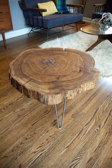 wood slab bench top remodelaholic diy simple wood slab coffee table when