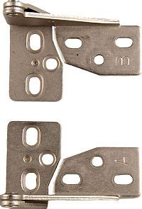 knife hinges for cabinets thh 6102 sn variable overlay knife pivot hinge pair
