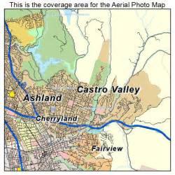 castro valley california map aerial photography map of castro valley ca california