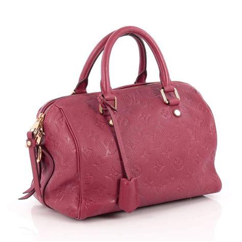 Sale Lv Alma Mono Mini World Tour louis vuitton speedy bandouliere bag monogram empreinte leather 25 at 1stdibs