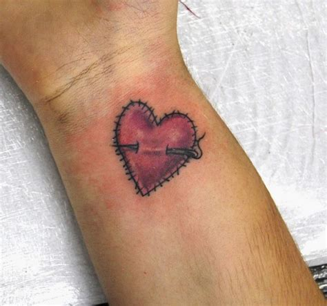 small heart shaped tattoos small on wrist designs pictures
