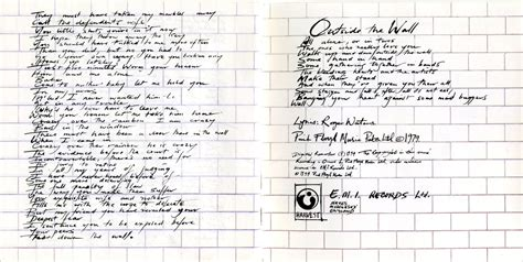 pink floyd another brick in the wall testo pink floyd the wall analisi critica il mondo di