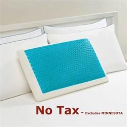 comforzen memory foam cluster standard 2 pack bed pillow