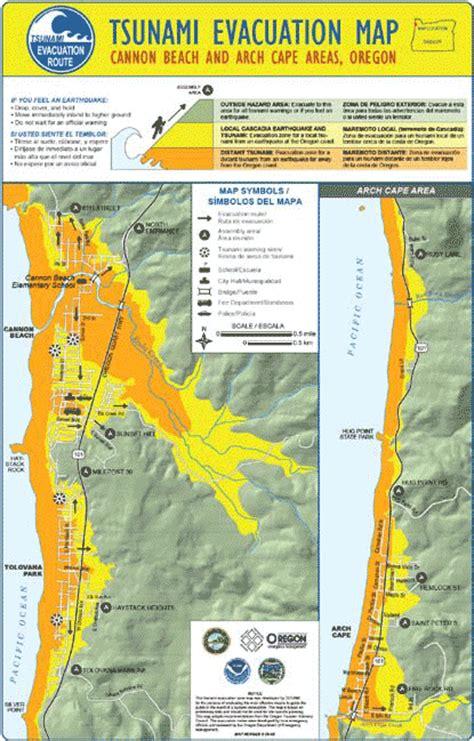 map of oregon earthquake zones american cities vulnerable tsunamis california
