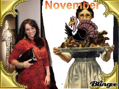 martine mccutcheon calendar november turkey day picture 101732429 blingee