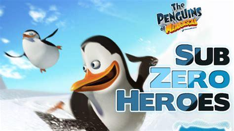 Zeroheroes Longsleve 10 penguins of madagascar sub zero heroes nick asia